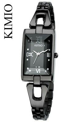nero Kimio Lady originale orologio DONNA bracciale watch-crystal jewelry K23L
