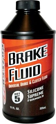 Maxima Brake Fluid - DOT-5 Silicone -11 oz. DOT 5 80-81911 3707-0009 78-9968