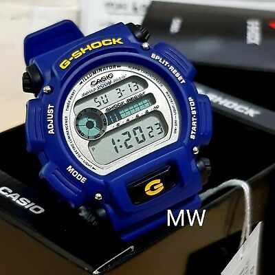 Authentic Blue Casio G-Shock Man's Watch Dw9052-2 Brand New With Original Box