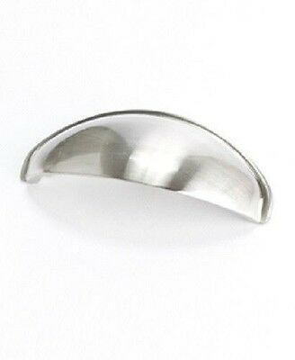"""BN9896-1BPN-P BERENSON KITCHEN CABINET HANDLE 3/""""CUP PULL BRUSHED NICKEL"""