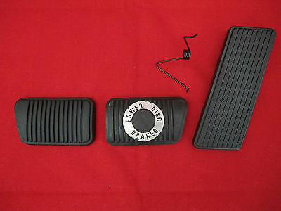 Ford Accelerator Pedal Clutch And Brake Pedal Pad Kit Suit Xa Xb Xc Xd Xe Xf 351
