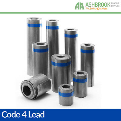 Code 4 Lead Flashing | Lead Sheet | Lead Rolls: 2m, 3m, 4m & 6m Rolls