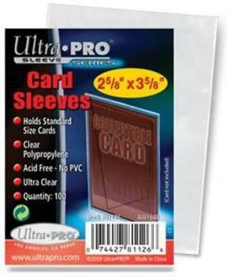 ULTRA PRO PENNY CARD SLEEVES 1 PACK (100) BRAND NEW SEALED ACID PVC FREE