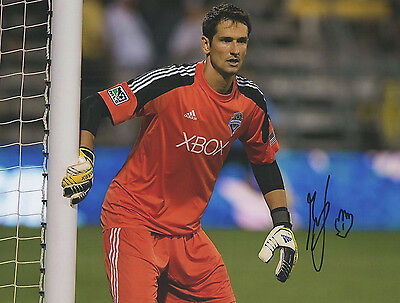 MICHAEL GSPURLING SIGNED SEATTLE SOUNDERS FC 8X10 MLS SOCCER!!!
