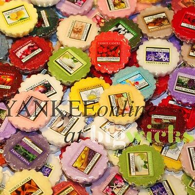 Yankee Candle Wax Melts Assorted Mix of 10  FREE P+P