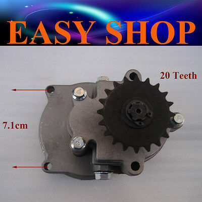 20T Clutch Drum Bell Housing Gear Box 43 49cc Mini Dirt Pocket Quad ATV Scooter