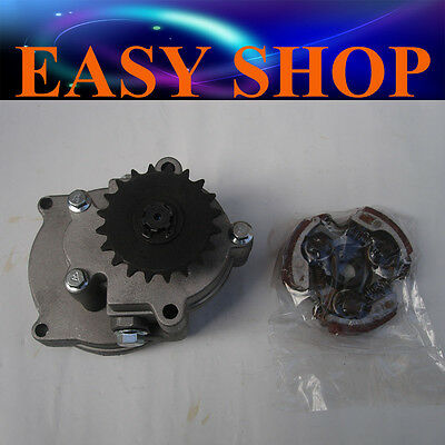 Clutch + 20T Drum Bell Housing Gear Box 49cc Mini Dirt Pocket Quad ATV Scooter