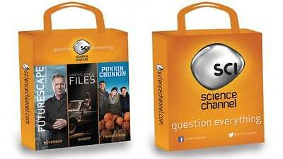 2013 SDCC San Diego Comic Con SWAG BAG THE SCIENCE CHANNEL -  BRAND NEW