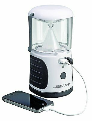 Mr Beams MB480 UltraBright LED Lantern with USB Charger 260 Lumens Auto Shut off