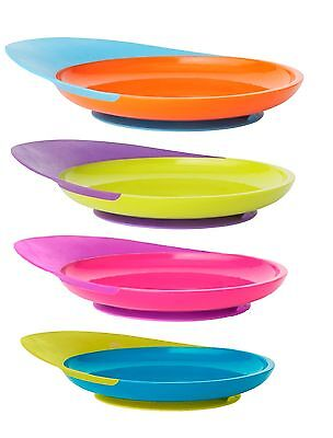 Boon Catch Plate with Suction Base Feeding for Baby Toddler Kid - 3 Options