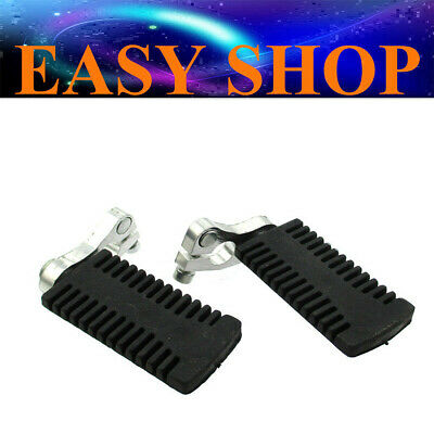 FOOT PEGS FOOTPEG REST 43cc 47cc 49CC POCKET ROCKET DIRT PIT PRO BIKE MINI KIDS