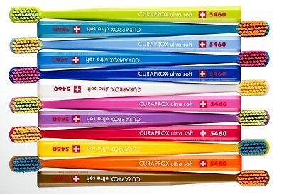 1 x CURAPROX CS 5460 Toothbrushes Ultra Soft Tooth Brushes Swiss Premium