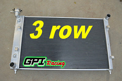 3 Core 52mm Aluminum Radiator for Holden Commodore VY V6 2002 2003 2004