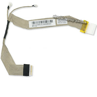 "TOSHIBA Satellite U400 U400D NEW LCD Cable for 13.3"" Screen DD0BU2LC000111209"
