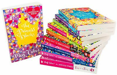 The Princess Diaries 10 Books Collection Set Pack Meg Cabot Brand New