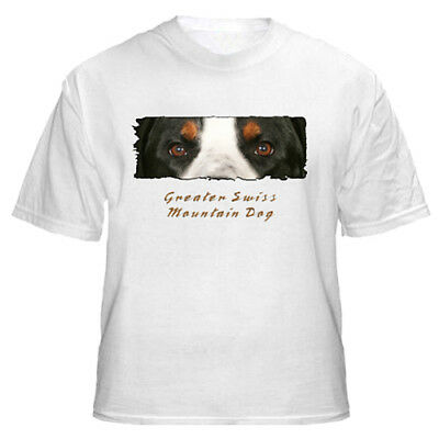 "Greater Swiss Mountain Dog  "" The Eyes Have It""  T shirt"