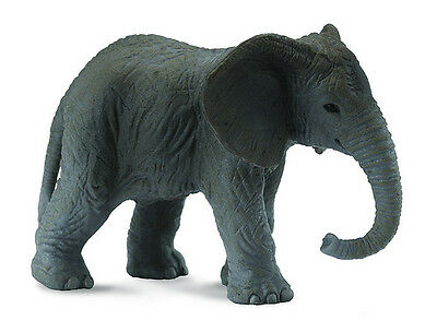 CollectA 88026 African Elephant Calf Toy Wild Baby Animal Model Replica - NIP