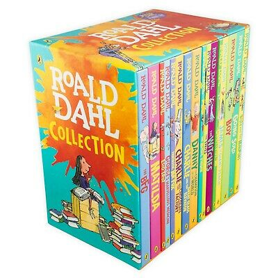 New Roald Dahl Collection Phizz Whizzing 15 Classic Story Books Box Set