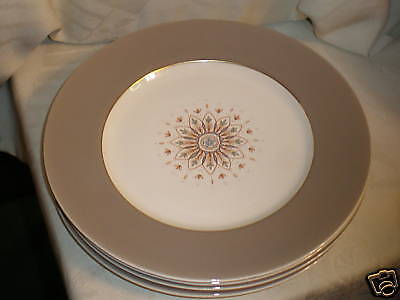 "W H GRINDLEY ENGLAND KINGSWOOD  10.5"" DINNER PLATES  4"