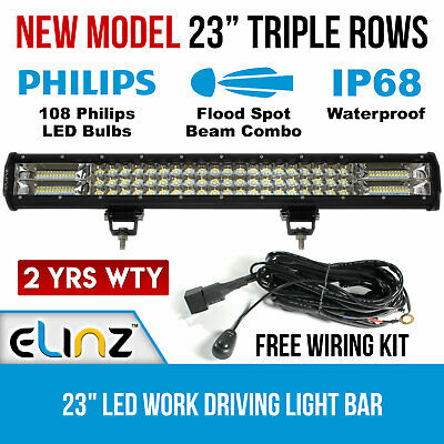 23inch LED Light Bar Work Driving Philips FLOOD SPOT COMBO Offroad OUT OF STOCK