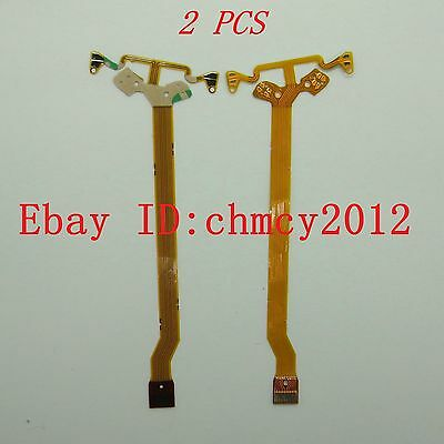 2pcs LENS Flex Cable For Canon EF-S 15-85 mm f/3.5-5.6 IS USM Anti-shake Line