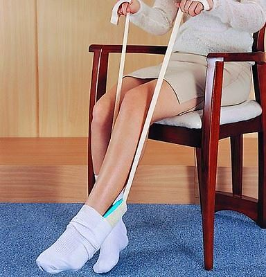 Terry Cloth Sock Socks & Stocking Tights Aid Dressing Assistant