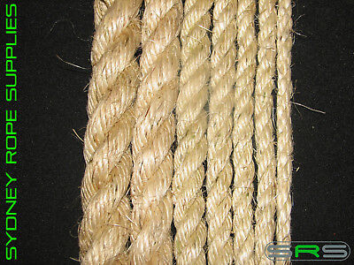 6Mm Sisal Rope Sold Per Metre Excellent Quality