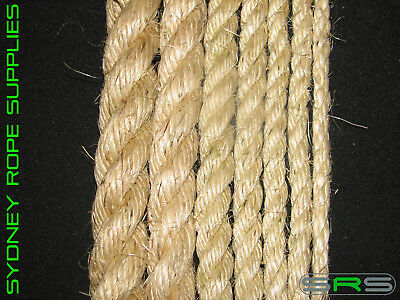 32Mm Sisal Rope Sold Per Metre Excellent Quality