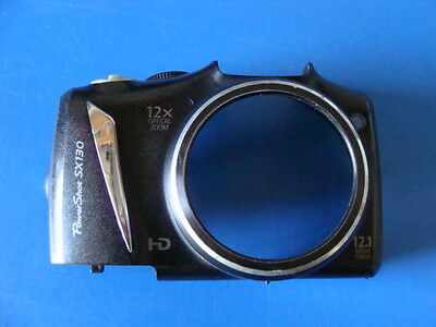 CANON POWERSHOT SX130 IS FRONT CASE FOR REPLACEMENT REPAIR PART