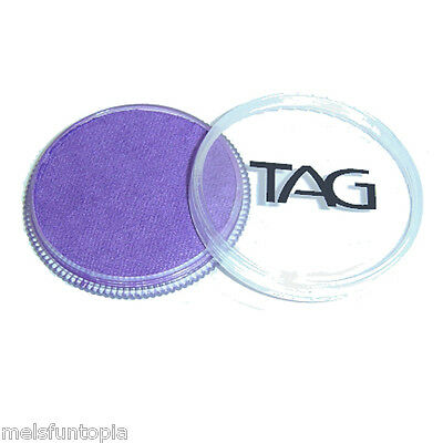 TAG Body Art 32g Pot Pearl Purple Professional Face and Body Paint - Metallic