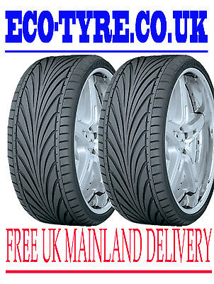 2X tyres 205 55 ZR16 91W TOYO Proxes T1R Performance road legal tyre 205 55 16