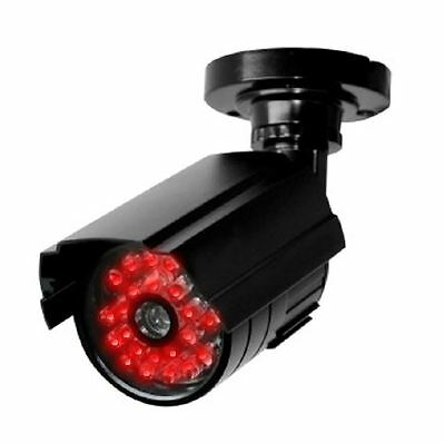 Dummy Security Camera with Auto Night / Day Switch - Modern Realistic Design