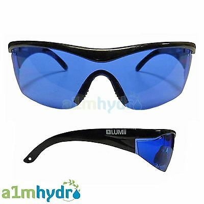 Lumii Glasses Anti Light Glare And UV Protection For Grow Room Hydroponics