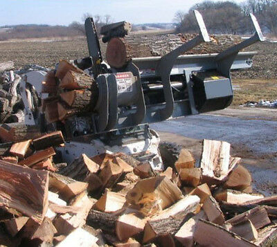 Skid Steer Wood Processor Attachment Industrial Series