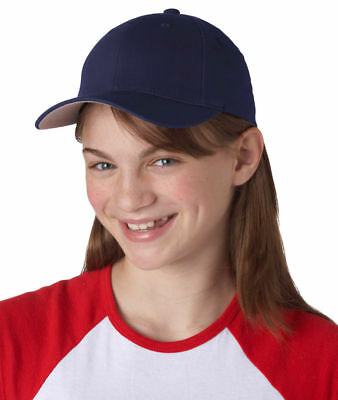 Yupoong Youth Casual Flexfit Wooly 6 Panel Structured Baseball Cap. 6277Y