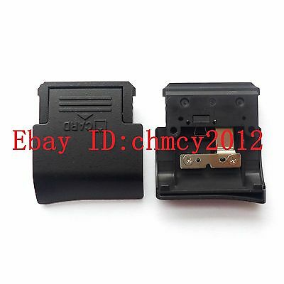New SD Memory Card Door Cover For Nikon D3000 With METAL & Spring