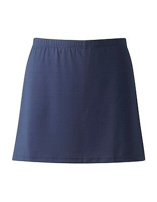 *Sport-SKORT-SKIRT & SHORT in one-GYM-GAMES-SPORTS-GIRLS/LADIES-Black or Navy*