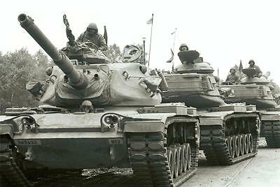 COLD WAR TANKS GLOSSY POSTER PICTURE PHOTO russia usa historical weapons 749