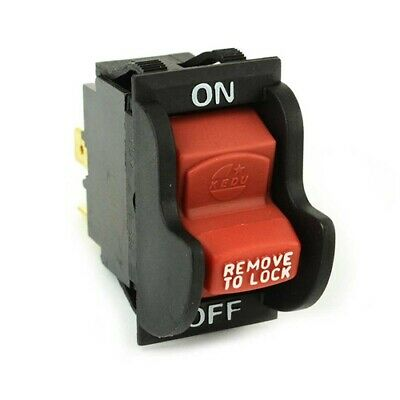 New Toggle Safety Switch W/key Delta 489105-00 Table Saw