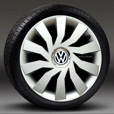 """Alloy wheels look wheel trims 14"""" Hub Caps, Covers to fit Vw Polo Full set of 4"""