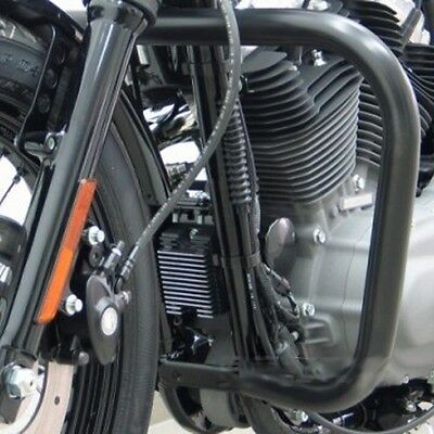 Pare chute noir pour Harley Sportster,Nightster,Iron ect