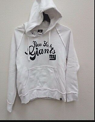 New York Giants Women's Ladies Brushed Fleece Full Zip Hooded Pullover