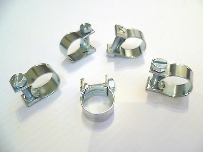 HOSE PIPE CLAMPS - MINI CLIP TYPE - SMALL DIAMETER - 6mm To 17 mm - Buy 3 To 100