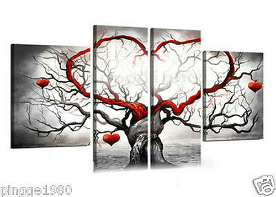 MODERN ABSTRACT HUGE WALL ART OIL PAINTING ON CANVAS  (NO frame)D052