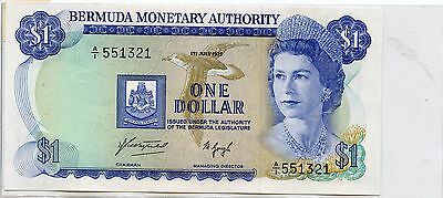 1975 Bermuda $1 Nice Note. Check out the Photos.