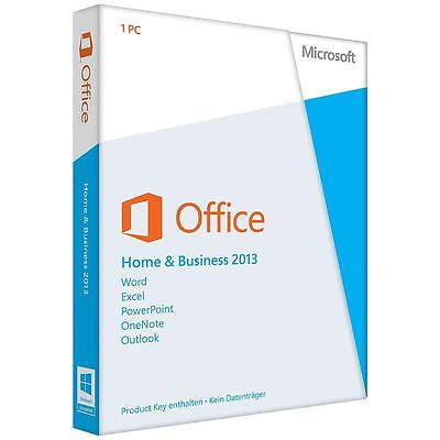 Microsoft Home and Business 2013 32/64 Download ESD