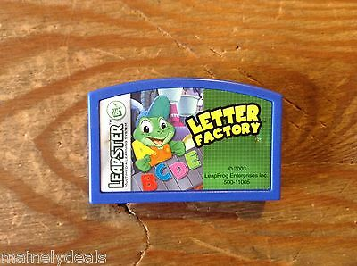 Leapster Letter Factory Cartridge Only