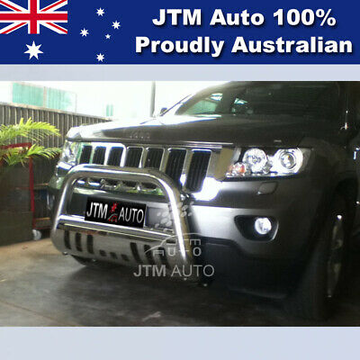 """Jeep Grand Cherokee Nudge Bar 3"""" Stainless Steel Grille Guard 2011-2017"""