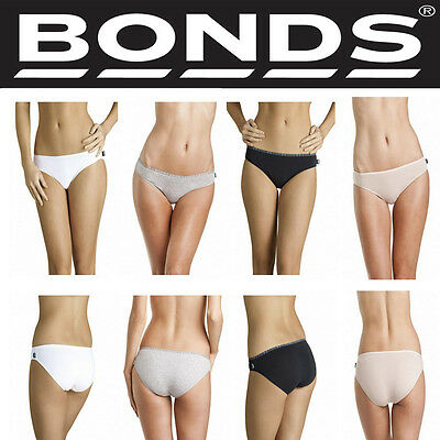 Bonds Lady Women Youth Basics Hipster Bikini Cotton Brief Underwear W0149Y