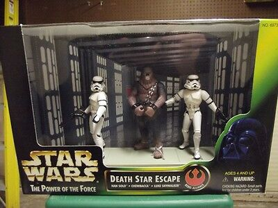 Star Wars The Power of the Force, 3pc Death Star Escape NIB